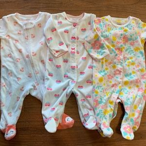 Carter's 3month jammie lot